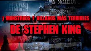 7 monstruos más terribles del Universo de Stephen King   DrossRotzank