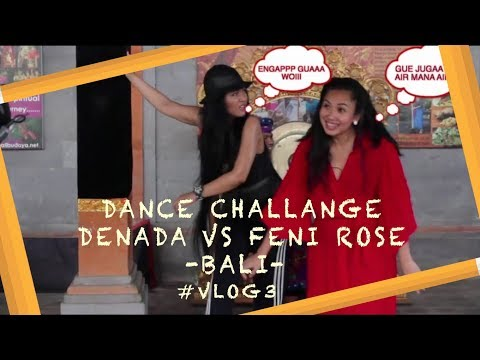 DENADA VS FENI ROSE | DANCE CHALLANGE #VLOG3