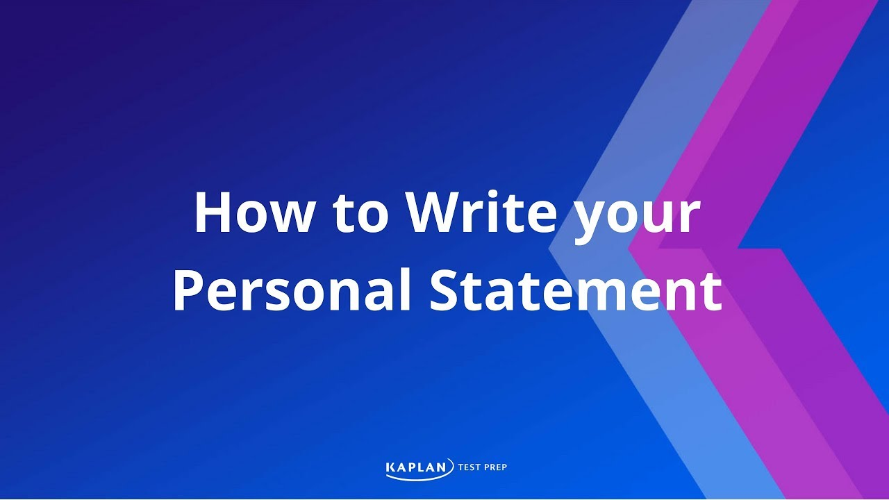 short personal statement for medical school