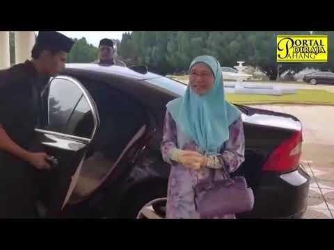 KDYMM PEMANGKU RAJA PAHANG MENERIMA KUNJUNGAN HORMAT YAB TIM PERDANA MENTERI MALAYSIA