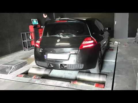 Mégane 2 Rs Cup Luxe Sur Banc Shiftech