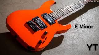 Heavy Rock Backing Track E Minor