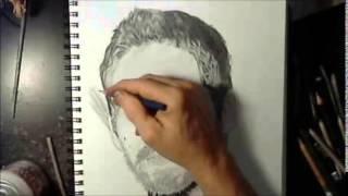 How I  Draw Paul Walker