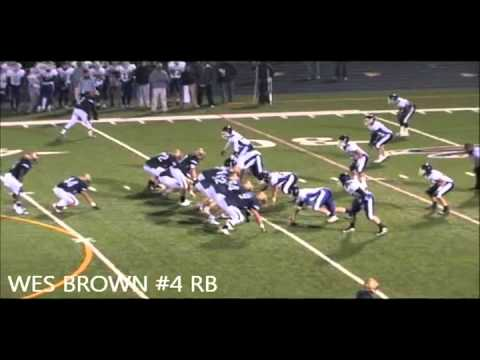 Wes Brown - RB - Good Counsel HS, MD - Class of 2012, Highlights