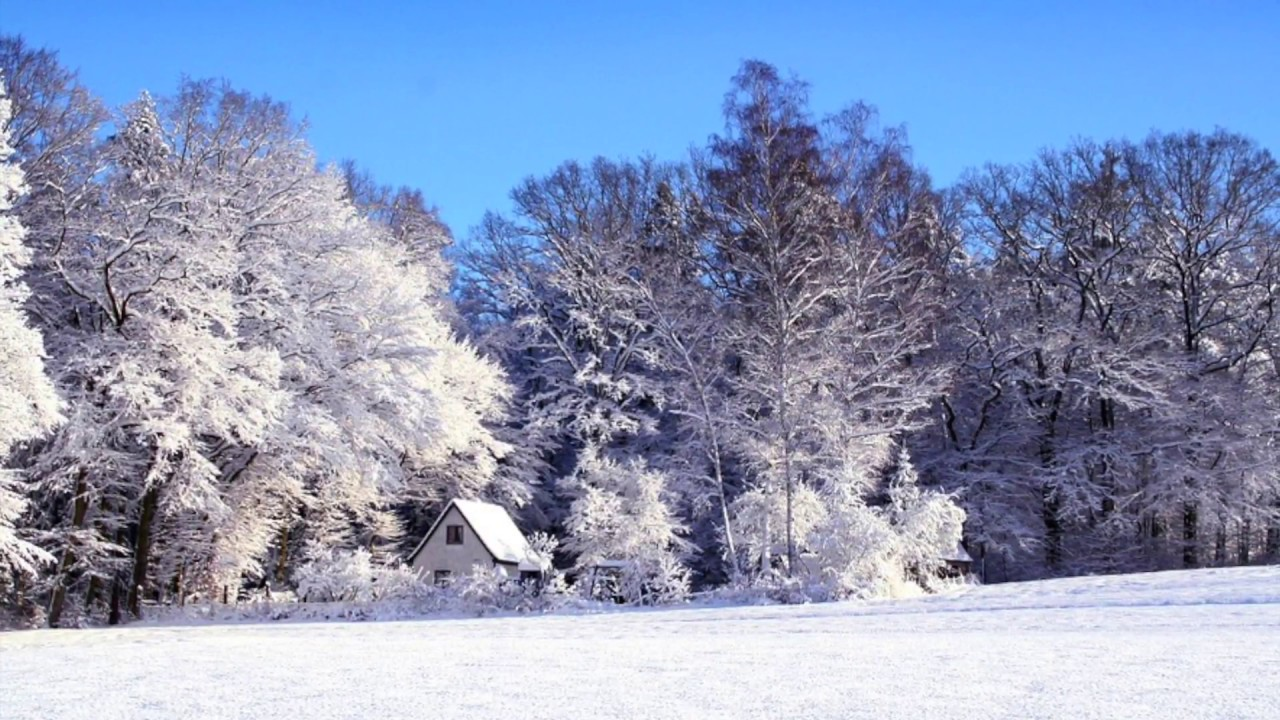 партитура стихотворения зимнее утро