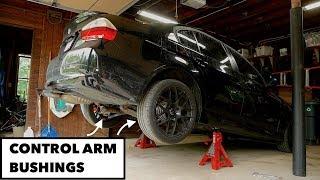 Control Arm Bushing Replacement // BMW E90