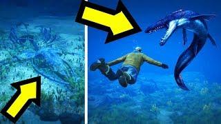 هل يمكن إيجاد وحش المحيط إذا عدنا بالزمن 9 سنين للوراء في جي تي أي 5 ؟ | GTA V Sea Monster