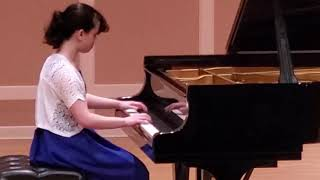Misa Harris (12) plays Invention No. 12 in A Major by J.S. Bach