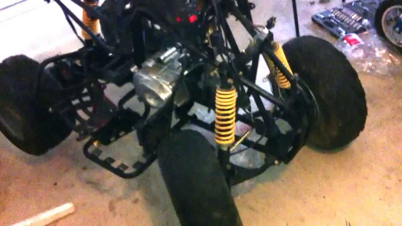 110 cc Chinese quad atv transmission problem diagnosis 1  YouTube
