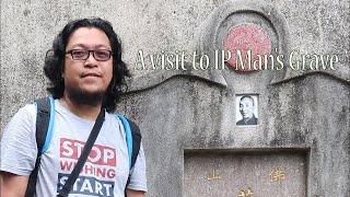 Buhay OFW : Visit to Ip Man's grave