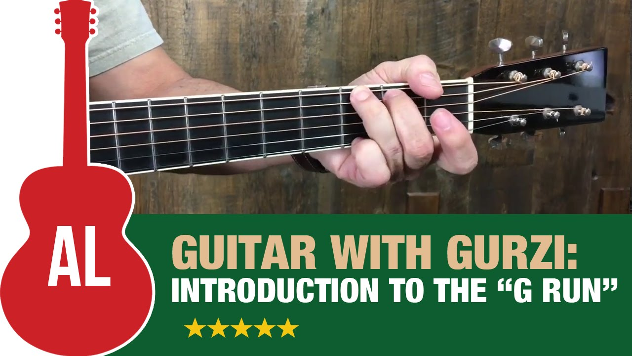 Introduction To The G Run A Simple Flatpicking Exercise Youtube
