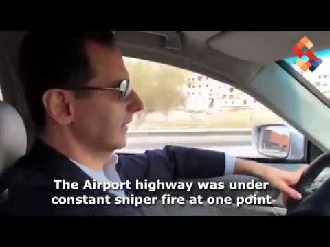 Bashar Assad drives to the frontline in East Ghouta, speaks about the future of his people