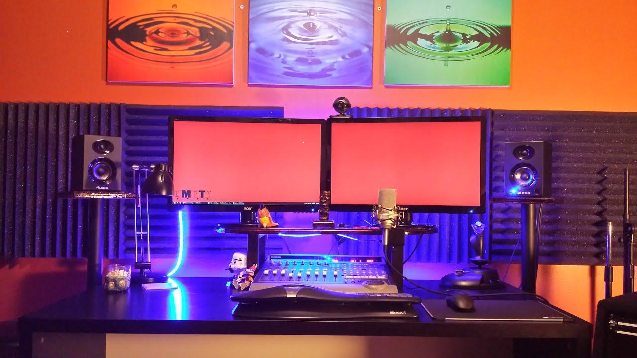 diy studio monitor stands youtube. Black Bedroom Furniture Sets. Home Design Ideas
