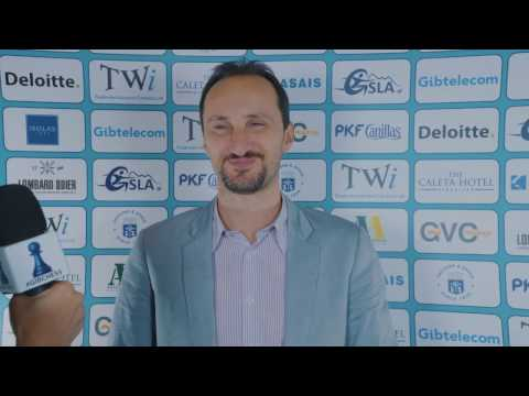 Round 5 Gibraltar Chess post-game interview with Veselin Topalov