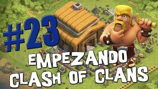 Mis primeros ataques con globos y esbirros - Empezando Clash of Clans con Android #23 [Español]