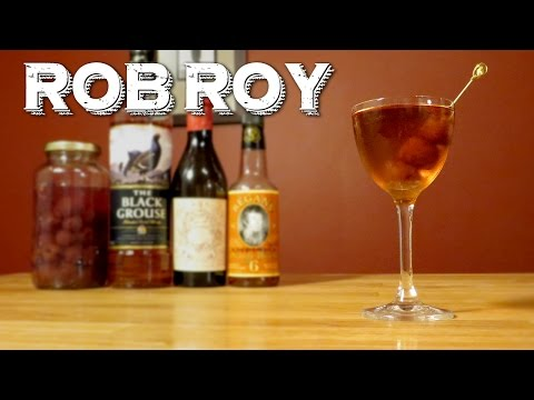Rob Roy - How to Make the Classic Scotch Whisky Variation on the Manhattan Cocktail