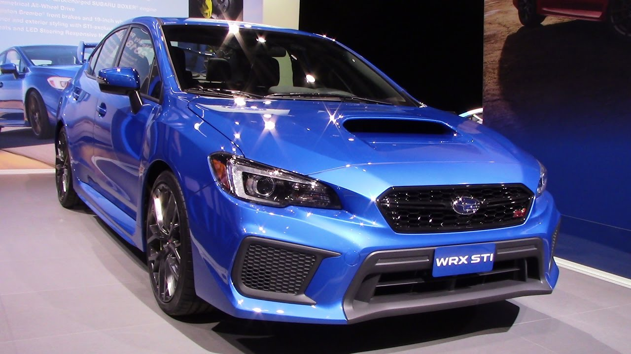 2018 subaru wrx sti price spring release specs. Black Bedroom Furniture Sets. Home Design Ideas