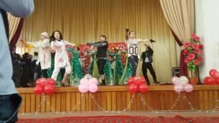 Flesh mob in Uzbekistan (ТАСИ) Institute of architecture... Хорезмский танец и продолжение
