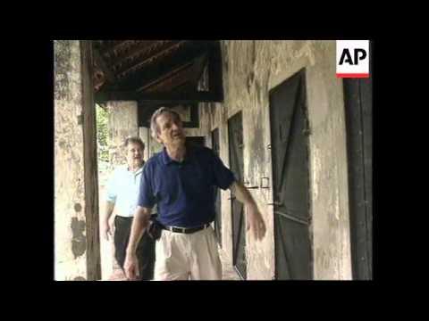 VIETNAM: SENATOR TOM HARKIN REVISITS CON SON ISLAND PRISON