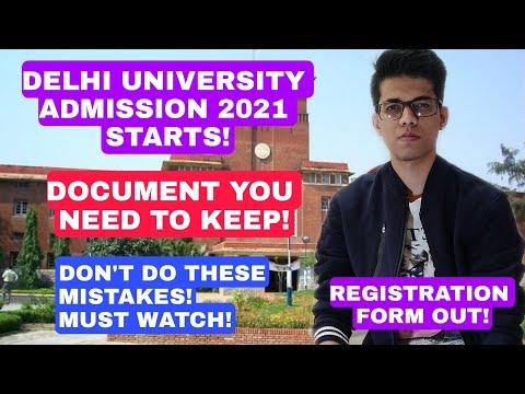 Delhi University admission