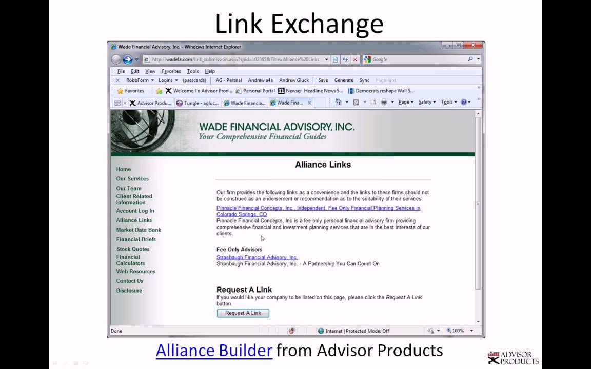 Answers About Our Financial Advisor Websites, Enewsletters