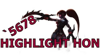 Highlight HON - The Dark Lady - ตั้น `5678 - MMR 1803 - Annihilation