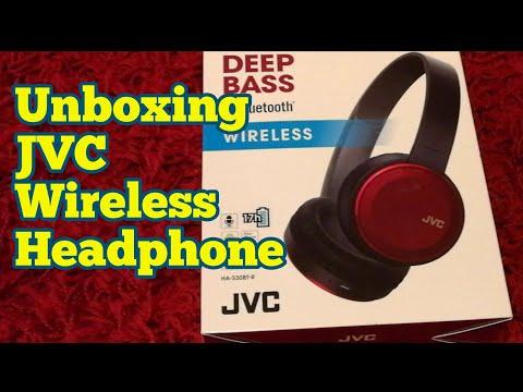 11e1011e7d6 Unboxing JVC Wireless Headphone Deep Bass HA-S30BT-R