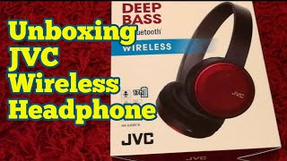 Video Unboxing JVC Wireless Headphone Deep Bass HA-S30BT-R download MP3, 3GP, MP4, WEBM, AVI, FLV Juni 2018