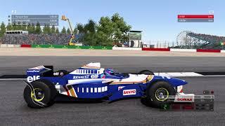 F1 2017 Classic Car Racing League Practice Round 2   Williams FW18 at Britain