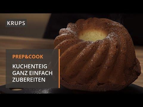 HP 5031 Krups Prep U0026 Cook   Rezept   Marmorkuchen   YouTube