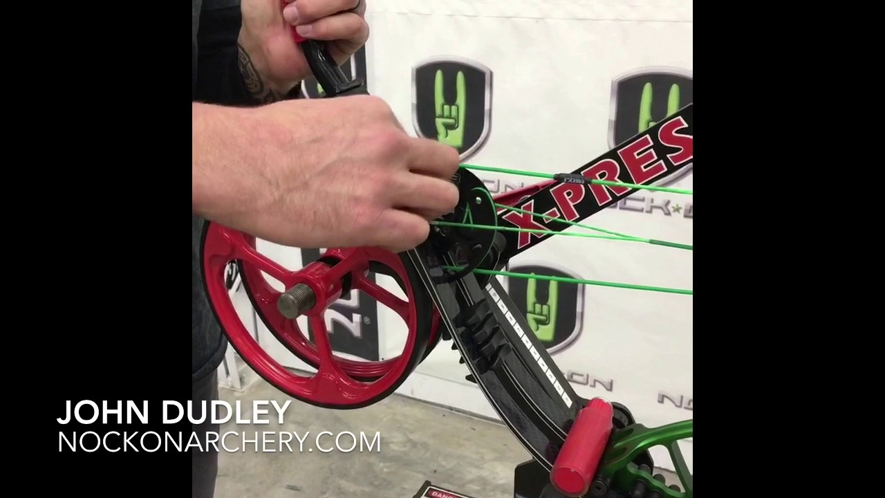 Complete Compound Bow Break Down and Rebuild to Replace Cams or Limbs Using  Xpress Pro