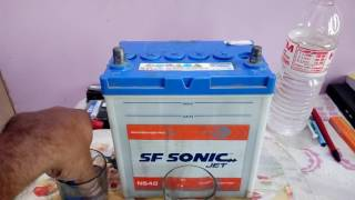 How And When Add Distilled Water Lead Acid Battery