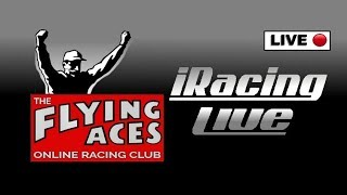 iRacing Live: Flying Aces: Saturday Night Shootout: Outlaw laughs at brothers driving skills.