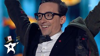Comedy Magician Gets To The FINAL on Switzerland's Got Talent | Magicians Got Talent