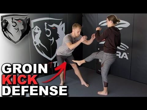 How to Defend Against a Groin Kick/Knee