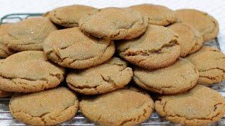 How to Make Molasses Cookies - Easy Soft Molasses Cookies Recipe