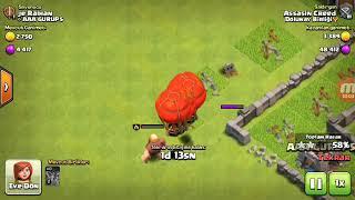 Böyle şanssızlık yok izle gör clash of clans