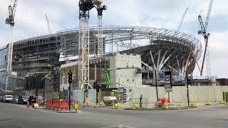 Tottenham stadium update on 23 May 2018