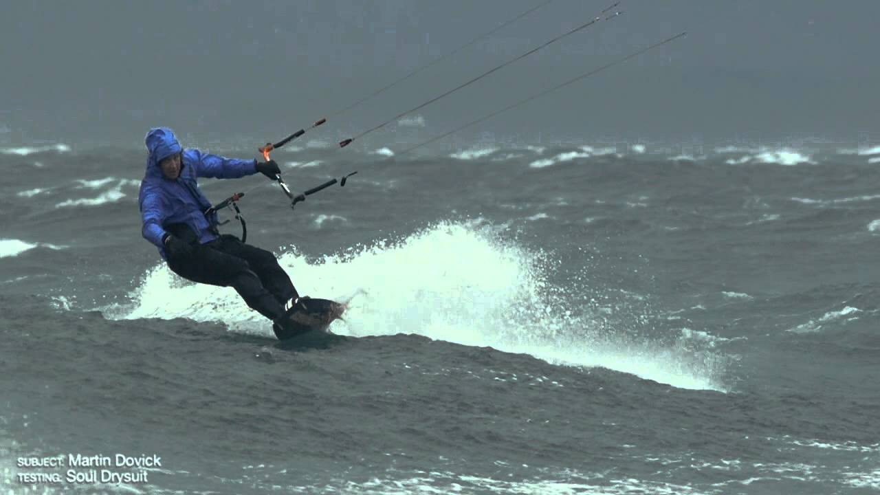 Ocean Rodeo Soul Drysuit Extreme Weather Test Youtube