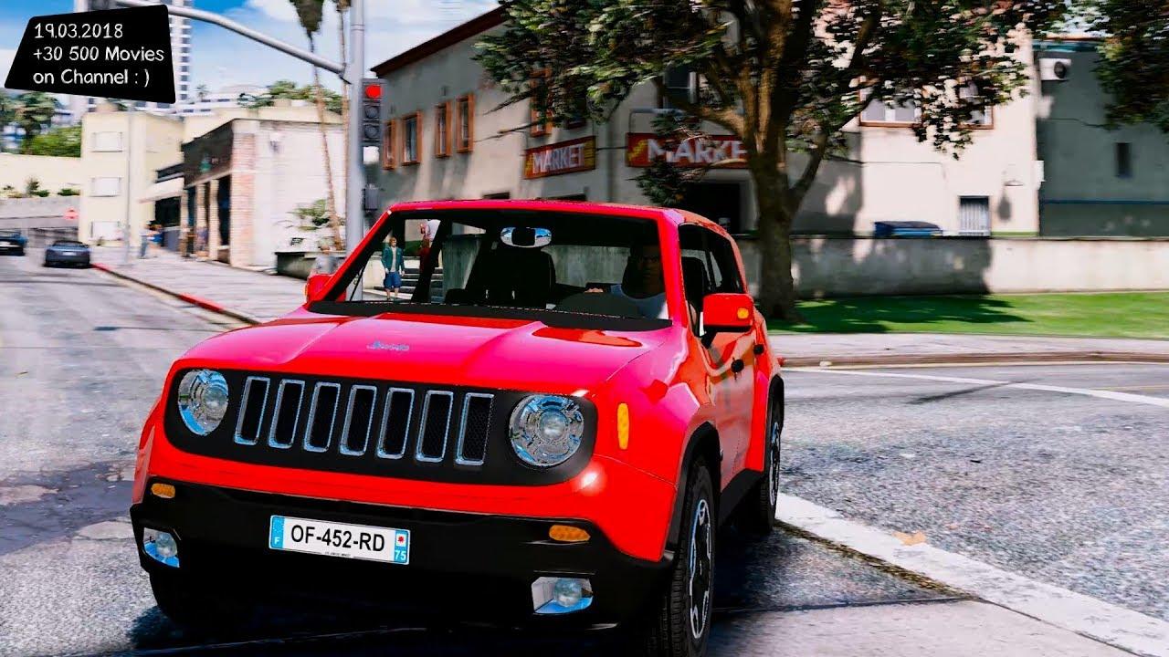 jeep renegade add on 1 0 grand theft auto v mgva mods. Black Bedroom Furniture Sets. Home Design Ideas