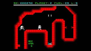 Deep Core Raider Walkthrough, ZX Spectrum