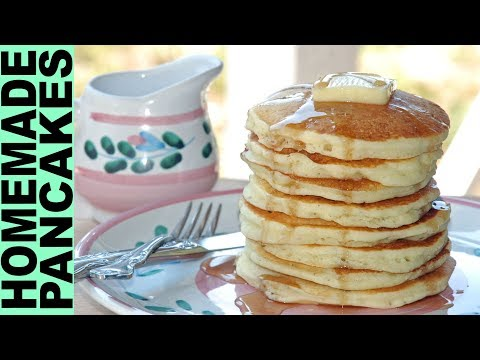 Gluten Free Pancakes Recipe FLUFFY YUMMY + How To Make Breakfast Recipes Gluten Free Habit
