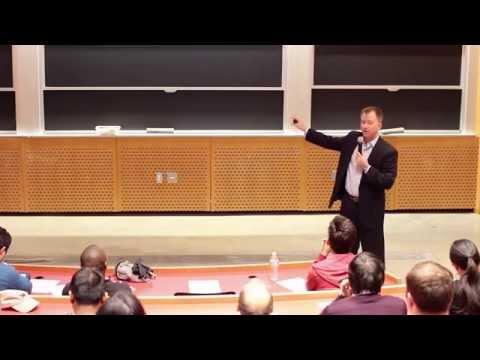 """2015 MIT Seminar: """"The Startup code"""""""