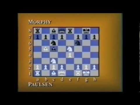 Louis Paulsen Vs. Paul Morphy - The Game Pt.2