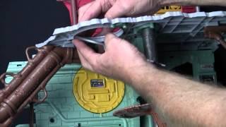 TMNT Secret Sewer Lair Playset Instructional Video