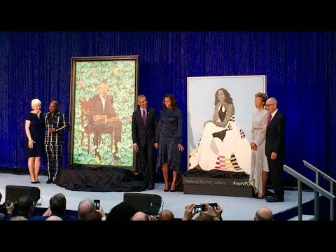 Why Some People Were Confused By Michelle Obama's Portrait for National Gallery