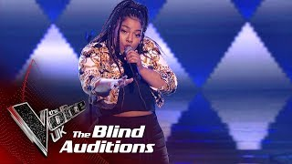 Nyema Kalfon's 'Answerphone' | Blind Auditions | The Voice UK 2019