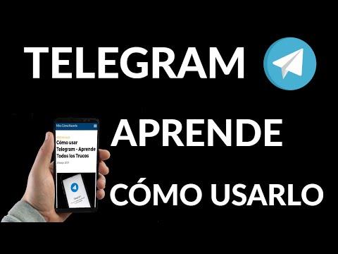Cómo Usar Telegram