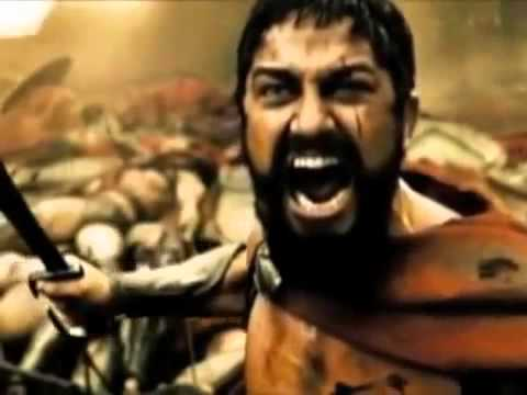 300 Movie - Beautiful Death
