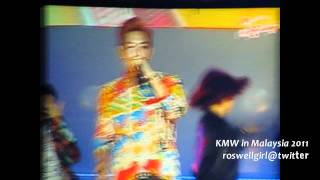 [Fancam] 110924  GD & T.O.P - High High @ Korean Music Wave Malaysia